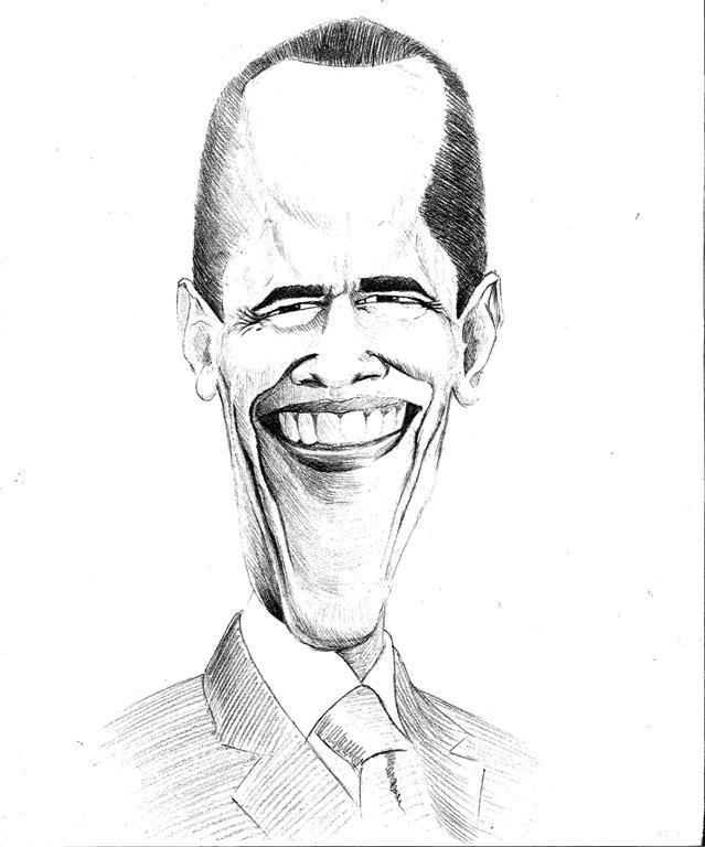 Très Caricatures de Barack Obama - mono(b)log TR29