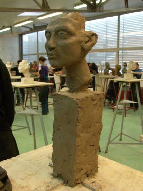 Nefertiti (trois-quarts face gauche)