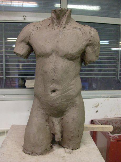 Buste masculin (face)