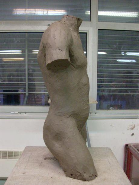 Buste masculin (profil gauche)