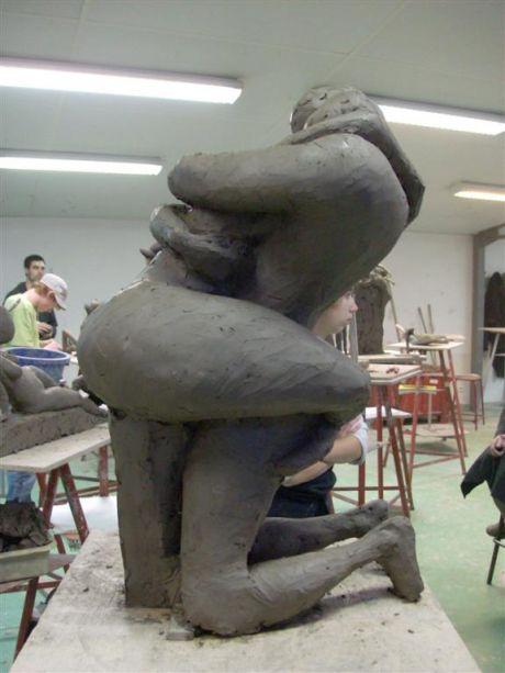 Le Couple (profil gauche)