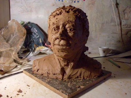 Portrait inventé (face)